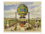 Montgolfier Ist Manned Giclee Print by  Lupton