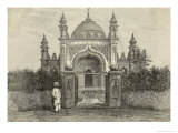 The 1st Purpose-Built Mosque in Britain at the Oriental Institute Maybury Woking Giclee Print by P. Naumann
