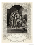 Act II Scene 3 Hotspur and His Wife Giclee Print by Alfred Heath