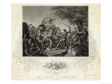 The Battle of Homildon Hill Giclee Print by J. Rogers