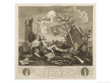Tailpiece or the Bathos Giclee Print by William Hogarth
