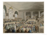 The Old Bailey, Known Also as the Central Criminal Court Premium Giclee Print by A.c. Pugin