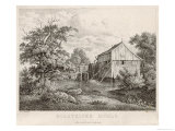 An Old Water Mill in Holstein Northern Germany Giclee Print by  Peschek