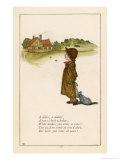 Diller a Dollar a Ten O'Clock Scholar Giclee Print by Kate Greenaway