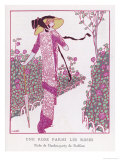 Garden Party Dress by Redfern Giclee Print by J. Gose