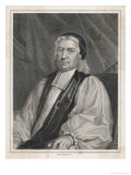Bishop Thomas Wilson Bishop of Sodor and Man Giclee Print by R.w. Sievier