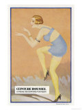 Corset Belt Circa 1929 Giclee Print by  Jakil