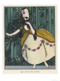 18th Century Costume for a Masked Ball Giclee Print by J. Gose