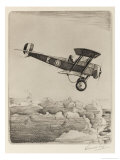 The Bristol Scout, Britain's Best Fighter in the Early Months of the War Giclee Print by Howard Leigh