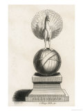 Adremelech in the Form of a Peacock is the Deity Giclee Print by Rothwell 