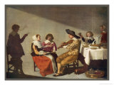 Dutch Musical Party, Singers and a Fiddler Giclee Print by Anthonie Palamedes