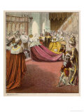 The Coronation of George III Giclee Print by Joseph Kronheim