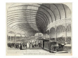 Reception of Queen Victoria at the Central Railway Station Newcastle-Upon-Tyne Giclee Print