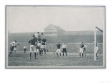 England V Scotland Goalmouth Action During Scotland's 2-1 Win at Bramall Lane Sheffield Premium Giclee Print