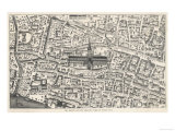 Old St. Paul's and Its Vicinity Time of Henry VIII Giclee Print