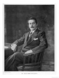 Giacomo Puccini Italian Musician at the Time of Madama Butterfly Giclee Print