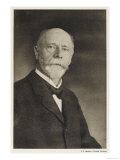 Willem Einthoven Dutch Physiologist Giclee Print
