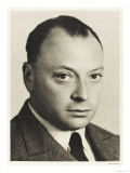 Wolfgang Pauli Austrian-American Physicist, Giclee Print