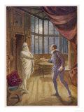 """Don Giovanni"" the Commendatore Accepts the Don's Supper Invitation Giclee Print"