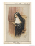 Mrs Starr Late Mother Superior of the Convent of Our Lady of Mercy at Hull Giclee Print by Carlo Pellegrini