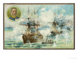 Alexandria Bombarded Giclee Print by Harry Payne