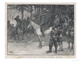 The Meeting of Lee and Grant at Appomattox Court-House Ending the War Between the States Giclee Print by H.m. Paget