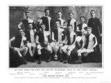 Bolton Wanderers F.C. Team Giclée-Druck