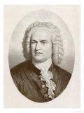 Johann Sebastian Bach German Organist and Composer Giclee Print