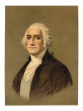 George Washington First President of the United States Lmina gicle