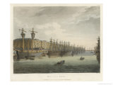 The West India Docks in the Great Age of English Trade Giclee Print by Rowlandson & Pugin
