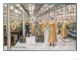 Women Working in a British Munitions Factory During World War One Giclee Print