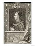 Henry V, Profile Portrait Giclee Print