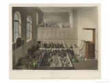 The Chapel of Newgate Prison Where Prisoners were Exhorted to Repent of Their Evil Ways Giclee Print by Rowlandson & Pugin