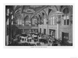Interior View of the New New York Stock Exchange Premium Giclee Print
