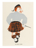 Sir Harry Lauder, Scottish Music-Hall Entertainer Giclee Print by Elizabeth Pyke