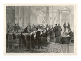 Bismarck Presides Over a Diplomatic Conference at Berlin to Discuss the Question of the Congo Giclee Print