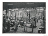 Women Working at the Coventry Machinists&#39; Company Cycle Works Warwickshire Giclee Print