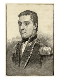 Matthew Flinders, Explorer and Navigator in the Pacific, Giclee Print