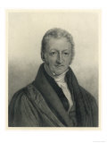 Thomas Robert Malthus Philosopher Known for Study of Population Giclee Print