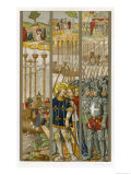 Louis IX Embarks for the Crusades at Aigues Mortes Sailing First to Cyprus Giclee Print