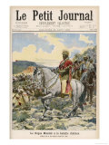 The Negus Menelik II at the Battle of Aduwa Giclee Print