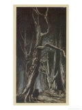 Enter the Two Brothers Giclee Print by Arthur Rackham