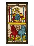 Tarot: 7 Le Chariot Giclee Print