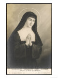 Saint Marguerite-Marie Alacocque French Nun and Visionary Giclee Print