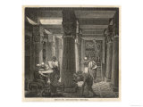 Alexandria Library Giclee Print