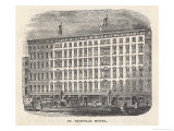 St. Nicholas Hotel New York Giclee Print by Richardson &amp; Cox 