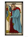 Tarot: 9 L'Hermite Giclee Print