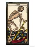 Tarot: 13 La Mort, Death Giclee Print