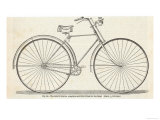 Home Assembly Model Safety Bicycle Giclee Print