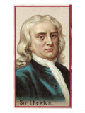 Sir Isaac Newton Mathematician Physicist Occultist Giclee Print